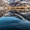 Зима 2014 на језеру Ђол